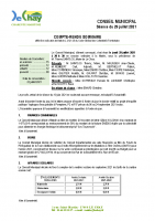 Compte-Rendu Conseil Municipal du 29 Juillet 2021