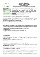 Compte-Rendu Conseil Municipal  du 10 juin 2021