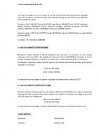 Compte-Rendu Conseil Municipal du 25 mars 2021