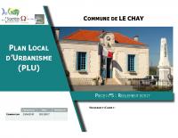 19.Pièce N°5 Réglement écrit PLU Le Chay 13 Décembre 2017